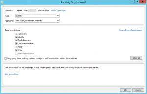 File access auditing from Windows event logging to monitor file access and change events lacks filtering capabilities, creating too many security events to sift through and adversely affects Windows server performance