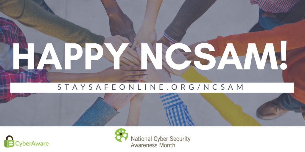Happy NCSAM