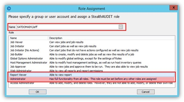 StealthAUDIT 8.1, StealthAUDIT, StealthAUDIT Reporting, Role Based Access, Role Based Access Reporting