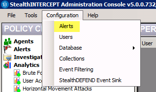 StealthINTERCEPT, StealthINTERCEPT Alert, StealthINTERCEPT Alert 5.0