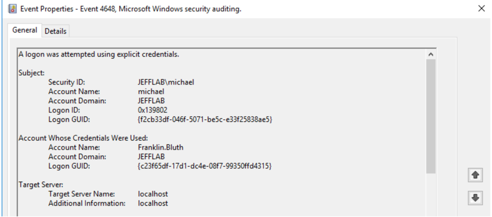 Pass-The-Hash Detection | Native Windows Event Logs | Pass