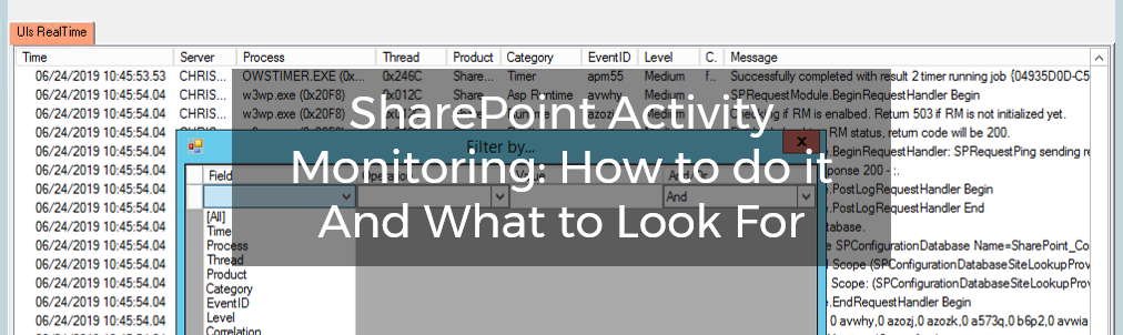 SharePoint Activity Monitoring: How to do it And What to Look For