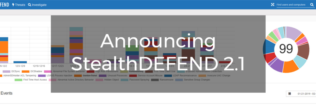 Announcing StealthDEFEND 2.1