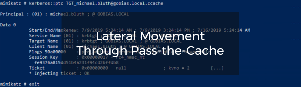 Lateral Movement Through Pass-the-Cache