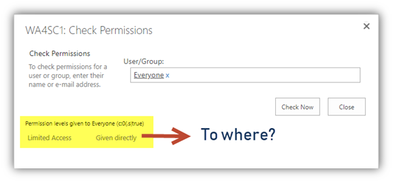 Open Access in SharePoint 1