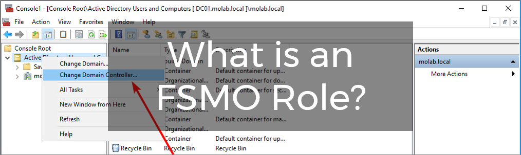 What is an FSMO Role in Active Directory