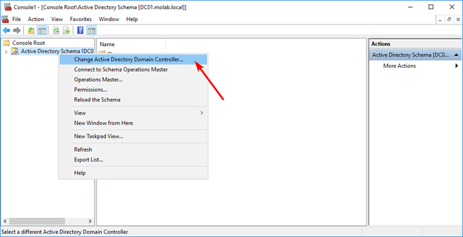 Change Active Directory Domain Controller