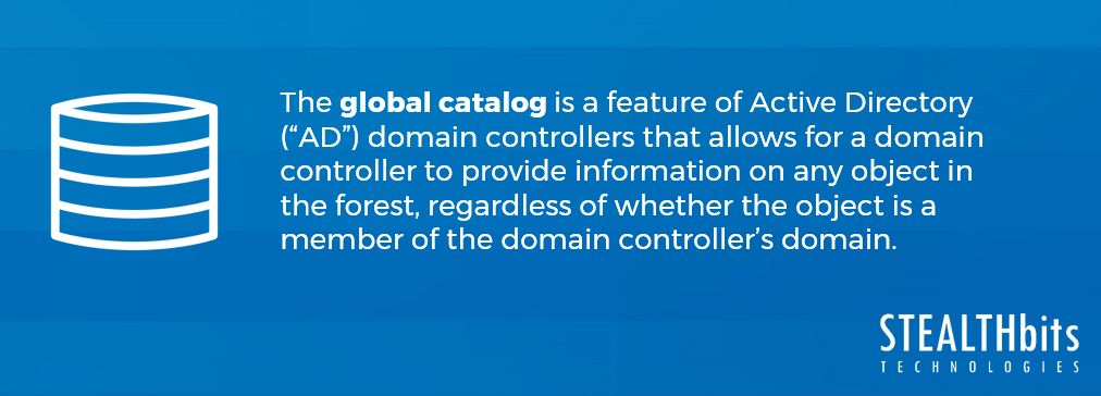 Global Catalog Definition