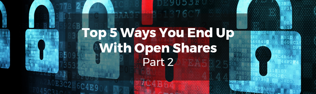 Top 5 Ways You End Up With Open Shares Part 2