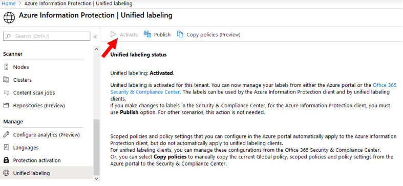 Azure Information Protection | Unified Labeling 2