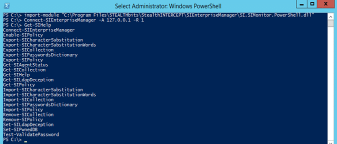 Available SI PS CMDLETS Windows PowerShell
